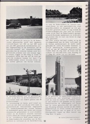 1986 'Contact, wacht uit'... Kroniek van 25 jaar 103 Verkenningsbataljon 52