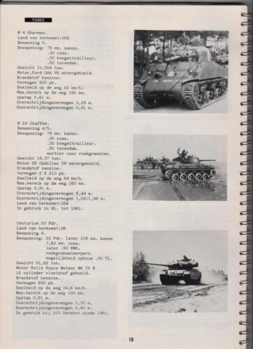 1986 'Contact, wacht uit'... Kroniek van 25 jaar 103 Verkenningsbataljon 18