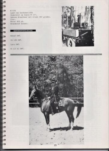 1986 'Contact, wacht uit'... Kroniek van 25 jaar 103 Verkenningsbataljon 23