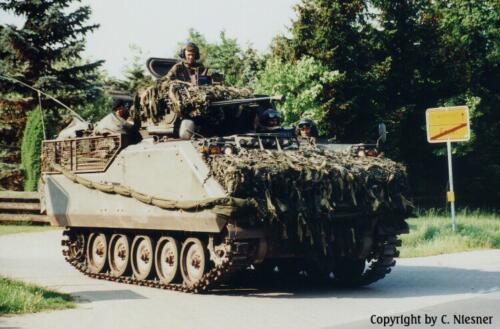 1998 103 Verkbat met Aufklärungsbataillon 3 uit Lüneburg; Oef Recce Alone Omgeving Celle (Inzender C Niesner) (12)