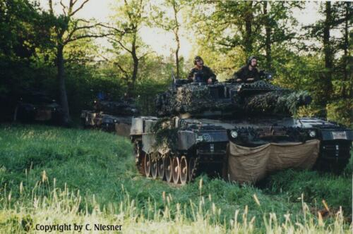 1998 103 Verkbat met Aufklärungsbataillon 3 uit Lüneburg; Oef Recce Alone Omgeving Celle (Inzender C Niesner) (13)