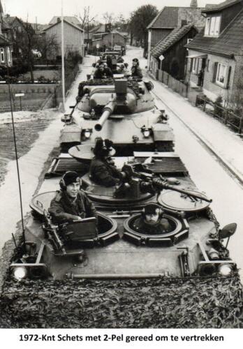 1972 A-Esk 2e Pel 103 Verkbat; Knt Schets 'Vertragend gevecht. Fotoboek van de Ritm R Meeder