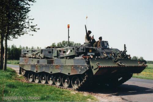 1998 103 Verkbat met Aufklärungsbataillon 3 uit Lüneburg; Oef Recce Alone Omgeving Celle (Inzender C Niesner) (7)