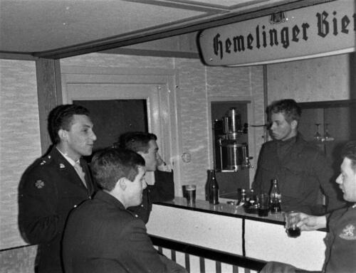 1966-1967 A-Esk 103 Verkbat; Onbekend maar wellicht Tlnt Meeder en Ritm Kwinten. Uit het fotoarchief van Jan Stoffels