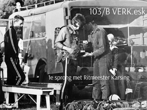 1974-1975 B-Esk 103 Verkbat; Para-opleiding Seedorf. Inzender Frans Homminga  (6)
