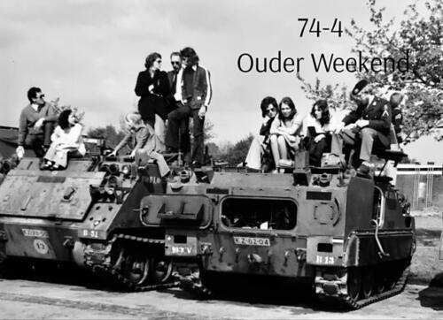1974-1975 B-Esk li 74-4 103 Verkbat; Oefeningen en kazerneleven. Inzender Frans Homminga (28)