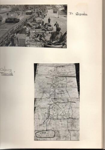 1969-09 B-Esk 103 Verkbat; Treinladen Oef Horizon en Oef Torenvalk. Fotoboek van de Elnt R Meeder
