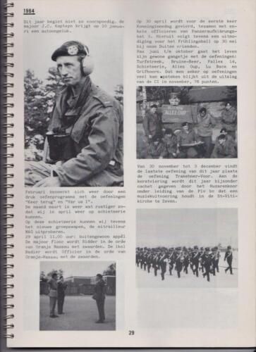 1986 'Contact, wacht uit'... Kroniek van 25 jaar 103 Verkenningsbataljon 29