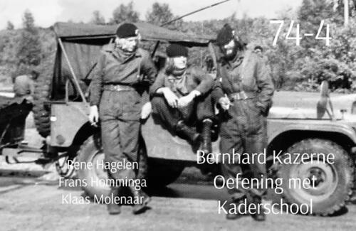 1974-1975 B-Esk 103 Verkbat; Opleiding Bernhardkazerne. Inzender Frans Homminga  (3)