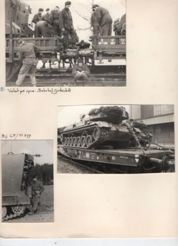 1971-1972 A-Esk 103 Verkbat; Schietserie 72-1 Hohne. Uit het fotoboek van de Ritm R Meeder  (4)