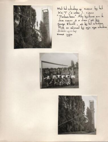 1970-07 B-esk 103 Verkbat; Oef Pantserstorm Roosendaal. Uit het fotoboek van de Elnt RRRE Meeder  (1)