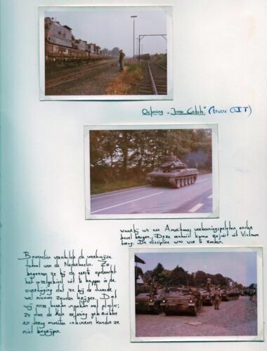 1972 A-Esk 103 Verkbat; Oef Juno Catch. Uit het fotoboek van de Ritm R Meeder