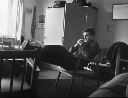 1966-1967 A-Esk 103 Verkbat; Het leven op de legeringskamers. Uit het fotoarchief van Jan Stoffels  (6)
