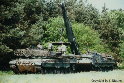 1998 103 Verkbat met Aufklärungsbataillon 3 uit Lüneburg; Oef Recce Alone Omgeving Celle (Inzender C Niesner) (6)
