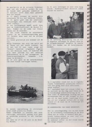 1986 'Contact, wacht uit'... Kroniek van 25 jaar 103 Verkenningsbataljon 32