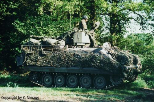 1998 103 Verkbat met Aufklärungsbataillon 3 uit Lüneburg; Oef Recce Alone Omgeving Celle (Inzender C Niesner) (20)