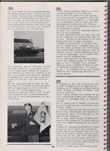 1986 'Contact, wacht uit'... Kroniek van 25 jaar 103 Verkenningsbataljon 38