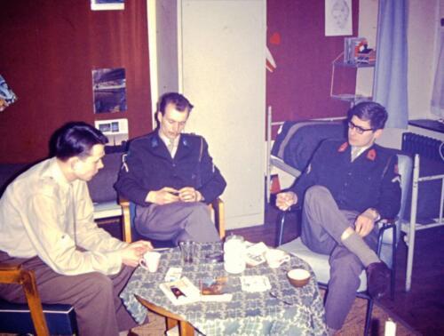 1966-1967 A-Esk 103 Verkbat; Het leven op de legeringskamers. Uit het fotoarchief van Jan Stoffels (7)