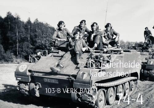1974-1975 B-Esk li 74-4 103 Verkbat; Oefeningen en kazerneleven. Inzender Frans Homminga  (22)