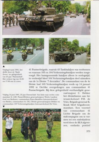 1961 - 2002 Par 31 'De Trakehners' Bron boek 'Huzaren van Boreel' uitg. 2003 auteur lkol A. Rens 15
