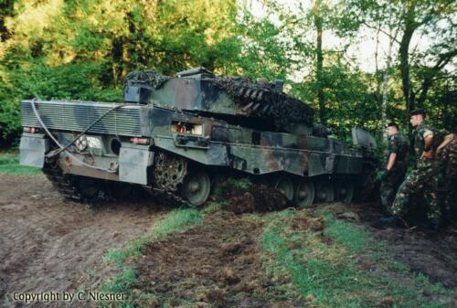 1998 103 Verkbat met Aufklärungsbataillon 3 uit Lüneburg; Oef Recce Alone Omgeving Celle (Inzender C Niesner) (3)