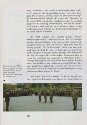 1961 - 2002 Par 31 'De Trakehners' Bron boek 'Huzaren van Boreel' uitg. 2003 auteur lkol A. Rens 14