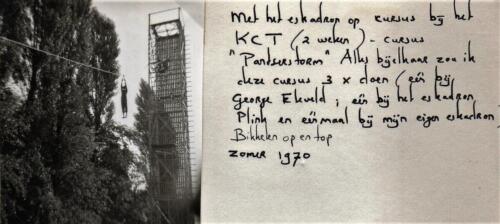 1970-07 B-esk 103 Verkbat; Oef Pantserstorm Roosendaal. Uit het fotoboek van de Elnt RRRE Meeder  (2)