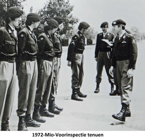1972 A-Esk 103 Verkbat; MIO voorinspectie door EC Ritm R Meeder. Fotoboek Ritm R Meeder
