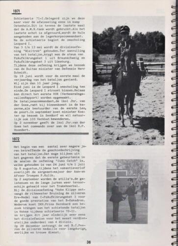 1986 'Contact, wacht uit'... Kroniek van 25 jaar 103 Verkenningsbataljon 36