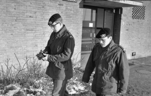 1966-1967 A-Esk 103 Verkbat; Lopen, lopen en lopen...  Uit het fotoarchief van Jan Stoffels  (2)