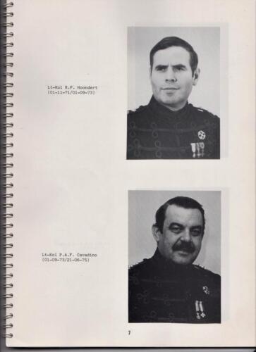 1986 'Contact, wacht uit'... Kroniek van 25 jaar 103 Verkenningsbataljon 7