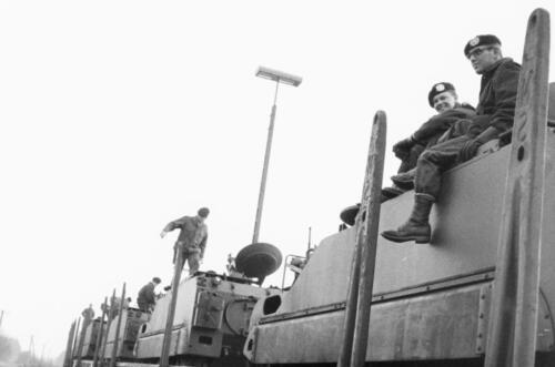 1966-1967 A-Esk 103 Verkbat; Trein laden of ontladen. Uit het fotoarchief van Jan Stoffels  (11)