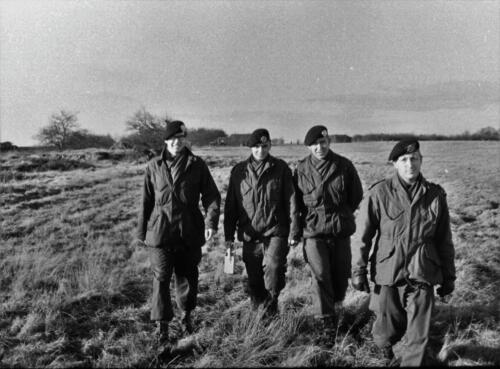 1966-1967 A-Esk 103 Verkbat; Lopen, lopen en lopen...  Uit het fotoarchief van Jan Stoffels (5)