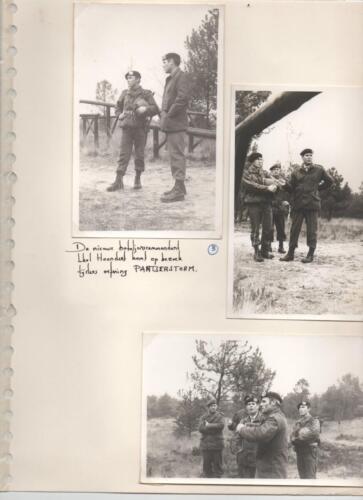 1972 A-Esk 103 Verkbat; Cursus Pantserstorm' met BC Lkol Hoondert. Fotoboek Ritm R Meeder. (1)