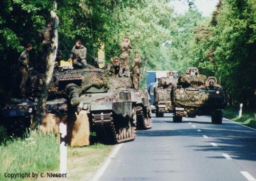 1998 103 Verkbat met Aufklärungsbataillon 3 uit Lüneburg; Oef Recce Alone Omgeving Celle (Inzender C Niesner) (5)