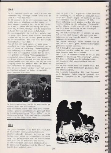 1986 'Contact, wacht uit'... Kroniek van 25 jaar 103 Verkenningsbataljon 34