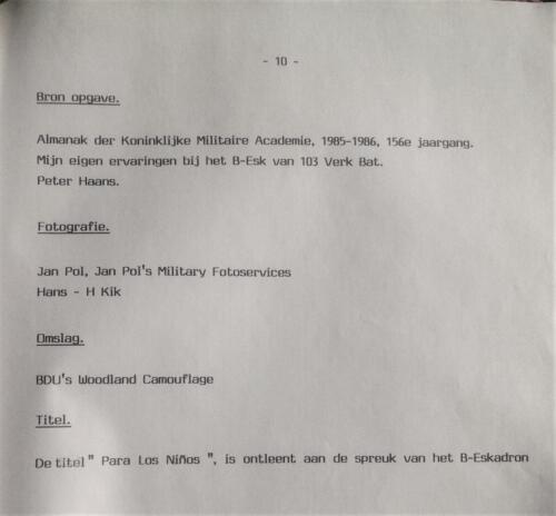 1986-1988 B-Esk Het Owi Pedro Haans effect (Para los Ninos) team Wmr I Fred Kerkhof 13