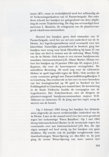 1961 - 2002 Par 31 'De Trakehners' Bron boek 'Huzaren van Boreel' uitg. 2003 auteur lkol A. Rens 5