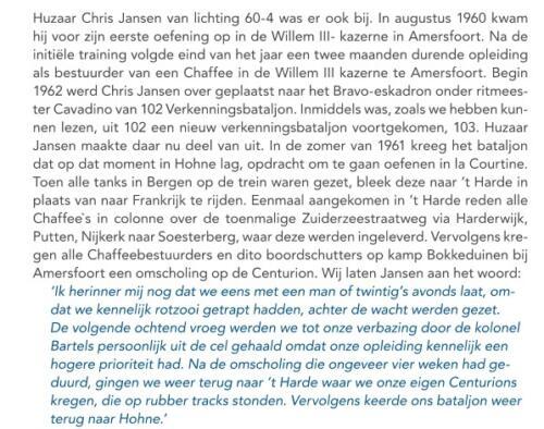 1b. 1961 07 20 103 Verkbat Vervanging van de Chaffees door Centurions. Inz. huz Chris Jansen.