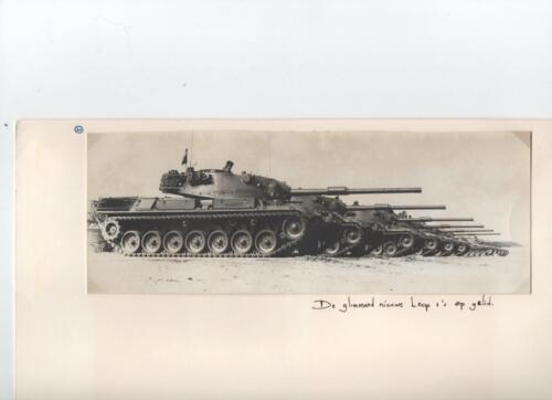 2. 1971 103 Verkbat Onze nieuwe Leopard tanks
