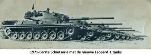 2. 1971 103 Verkbat Onze nieuwe Leopard tanks 1 1