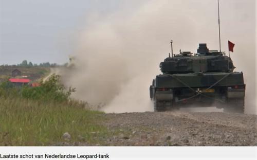 2011 05 18 Bergen Hohne Het laatste schot van de Nederlandse leopard II tank. 5