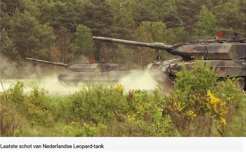 2011 05 18 Bergen Hohne Het laatste schot van de Nederlandse leopard II tank. 9