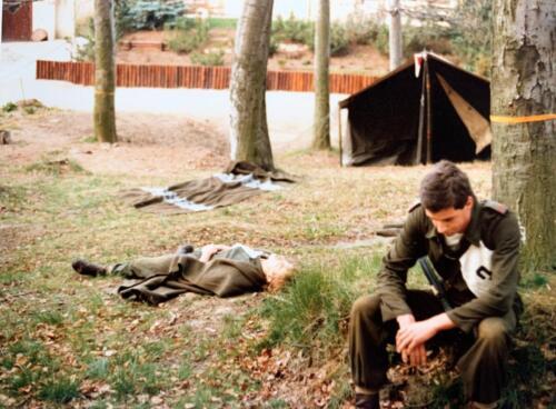 30. 1980 A Esk 103 Verkbat 79 4 Deelname Boeselager zie voor verklarende tekst de bijlage. Fotoalbum John Emmen 1 1