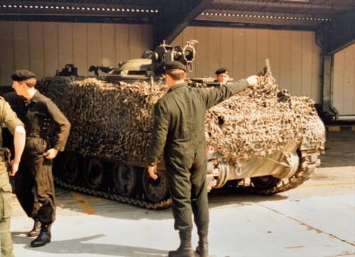 34. 1980 A Esk 103 Verkbat 79 4 Deelname Boeselager zie voor verklarende tekst de bijlage. Fotoalbum John Emmen 1 1