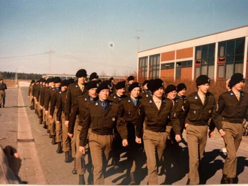 45. 1979 1980 A Esk 103 Verkbat Esk excerc Owi Kuijpers. Album John Emmen