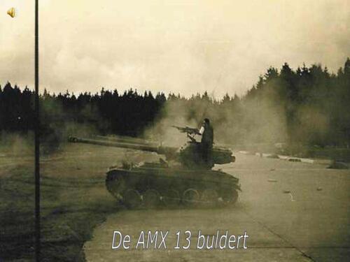 5. 1966 - 1967 A-Esk 103 Verkbat; Bergen-Hohne schietbaan .Eskadron Kwinten