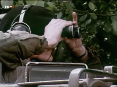5. 1986 A Esk 103 Verbat Verkennersactie Mortiervuuraanvraag en uitwerkingsvuur met o.a. Wmrs I Sinderdinck en Greiner