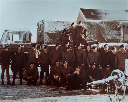 6. 1976 1981 B Esk 103 Verkbat Eskadrons en groepsfotos Inz. Louis Beeke 1