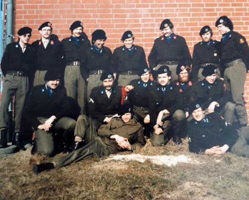 6. 1976 1981 B Esk 103 Verkbat Eskadrons en groepsfotos Inz. Louis Beeke 2